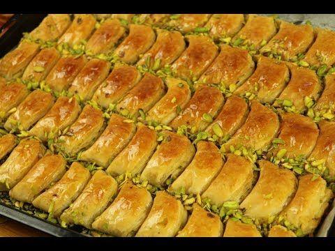 بقلاوة تركية على اصولها من الالف الى الياء بطريقتين في المنزل مع رباح محمد Youtube Cooking Turkish Recipes Baklava Recipe