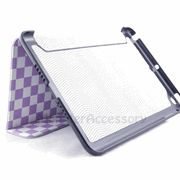 Purple Checker Flip Case Leather Cover for the Apple iPad Mini $8.95 > 10% coupon code : Pinit