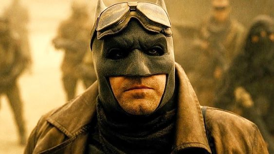 Ben Affleck as Batman in 2016's BvS: Dawn of Justice
