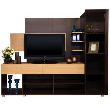 Wall units tvs and shelves on pinterest for Elegant wall units