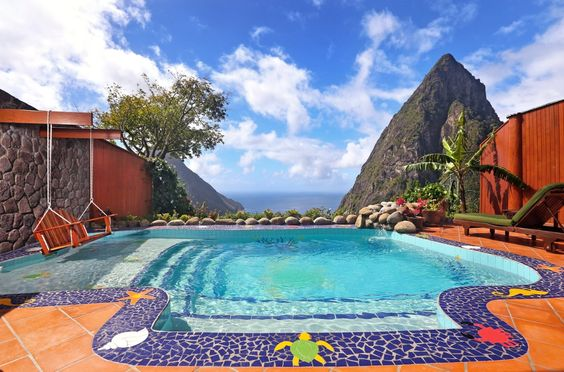 The Most Amazing Pools with Views in St. Lucia