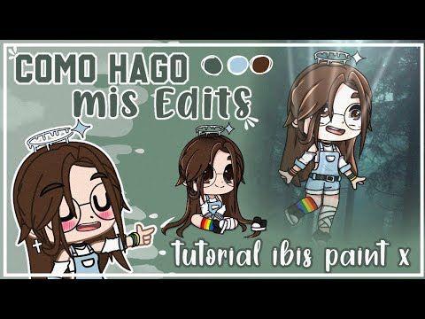 Como Hago Mis Edits Gacha Club Tutorial Ibis Paint X Valee Gacha Youtube Anime Chibi Doodle Art Drawing Club
