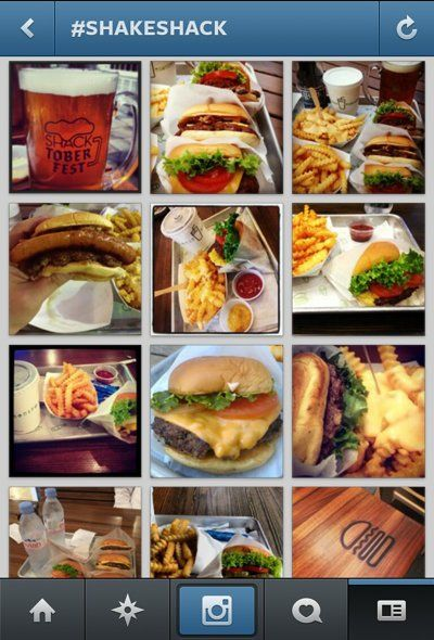 Instagram Food Pics             - Looking at these might actually make your appetite decrease.
