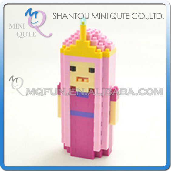 Adventure Time Building Blocks Figurine Fun Quirky Finn Jack Ice King Penguin Diamond Beemo