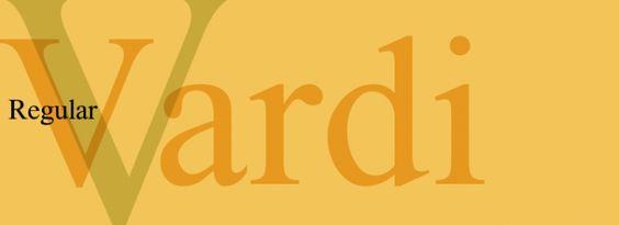 Vardi font download
