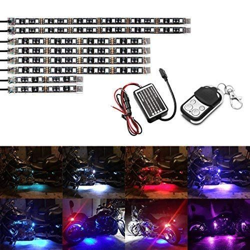 Ambother Motorcycle Led Light Kit Dc 12 Volts In 2020 Led Light Kits Led Lights Motorcycle Led Lighting