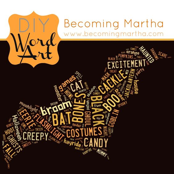 Becoming Martha: Creating your own Word Art