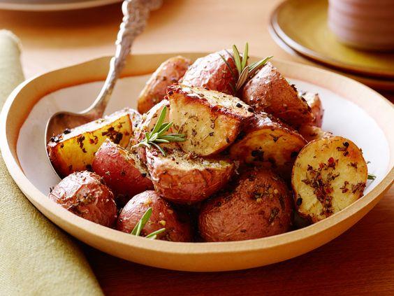 Rosemary Roasted Potatoes - Ina Garten.