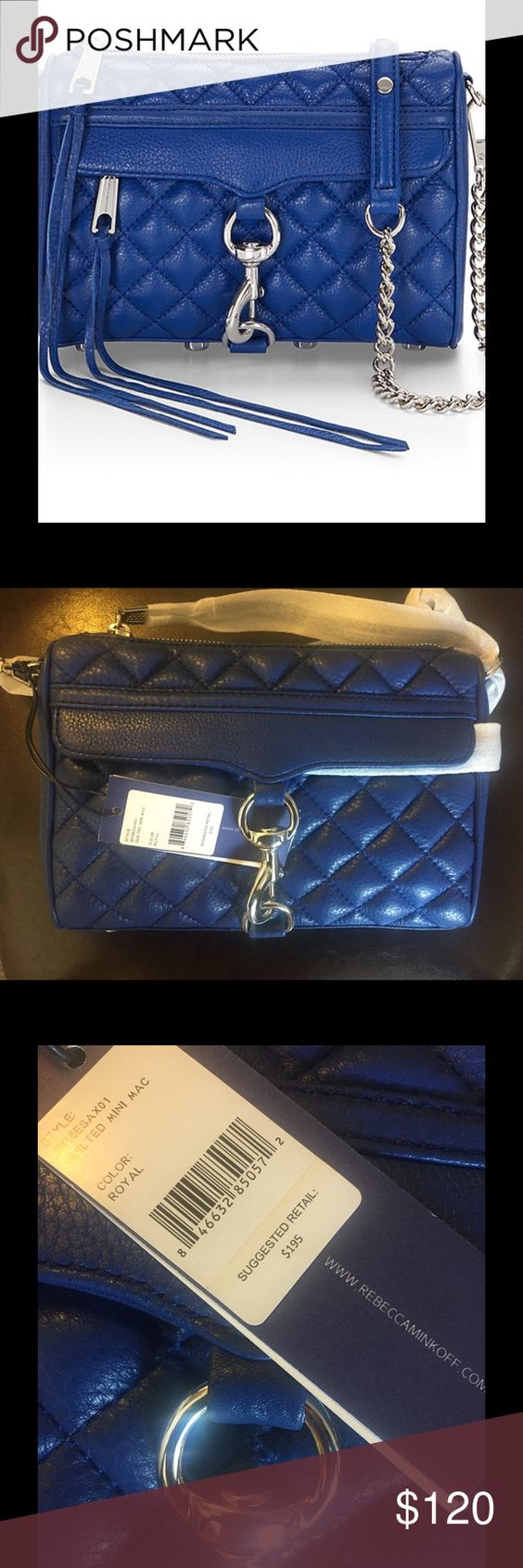 Rebecca Minkoff Quilted Mini Mac NWT Rebecca Minkoff is beloved by all trendsetters get this bag at a fraction of the price- new with tags and dust bag Rebecca Minkoff Bags Crossbody Bags