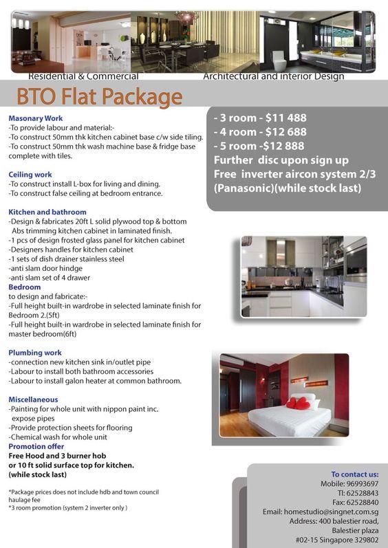 BTO Premium HDB Package