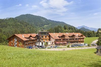 Außenansicht Hotel Oberstdorf, bei vox