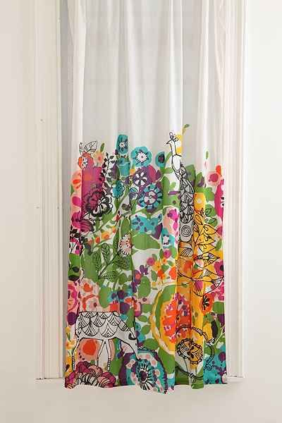 Woodland Garden Curtain - Urban Outfitters