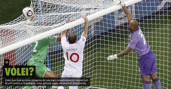 Copa de 2010 - Inglaterra 0x0 Argélia  (Fase de Grupos)