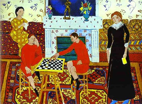 Família do pintor, óleo por Henri Matisse (1869-1954, France)