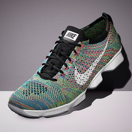 """The Nike Flyknit Zoom Fit Agility """"Multi-color"""" is coming your way on February 12, 2015.  Get a detailed look at this women's release on Sneakernews.com"""