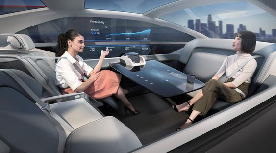 Volvo 360c concept-office Save image