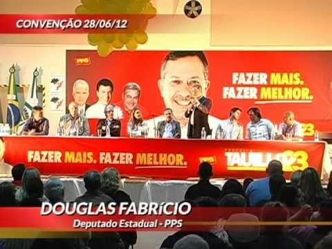 Deputado Estadual Douglas Fabrício afirma que Tauillo é o mais preparado para administrar Campo Mourão.