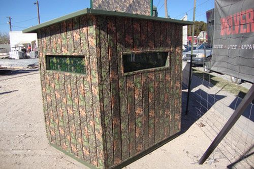 Wildside Camo Siding Ground Blind Click The Picture To