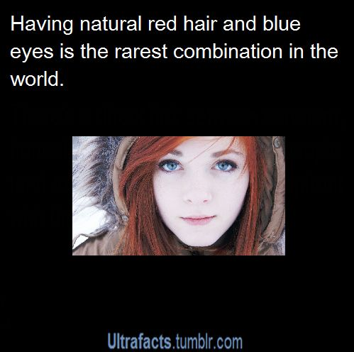 Red Hair Blue Eyes Red Hair Blue Eyes Red Hair Quotes Redhead Facts