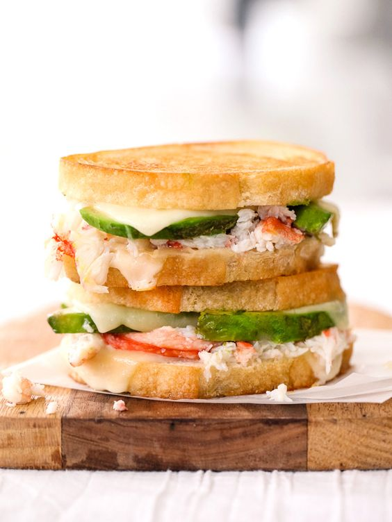 Try adding seafood for a fresh, summertime twist. Get the recipe from Foodie Crush.   - Delish.com