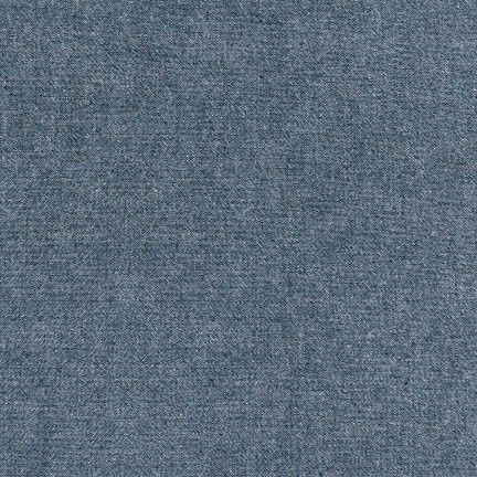 Still Water Designs - Indigo Chambray - Robert Kaufmann