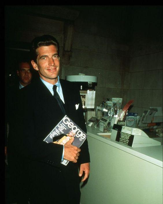 John F. Kennedy Jr. At Press Conference