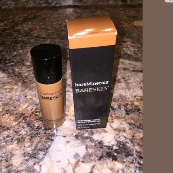 Bareminerals foundation New, in box! Espresso color bareMinerals Makeup Foundation