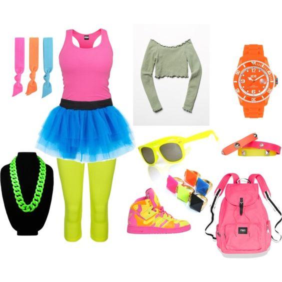 creative neon sadies outfits 10