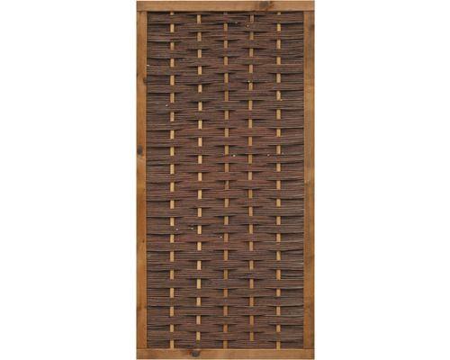Zaunelement Sicilia Weide Holzrahmen 90 X 180 Cm Kesseldruckimpragniert Braun Bei Hornbach Kaufen Kesseldruckimpragniert Holzrahmen Impragnieren