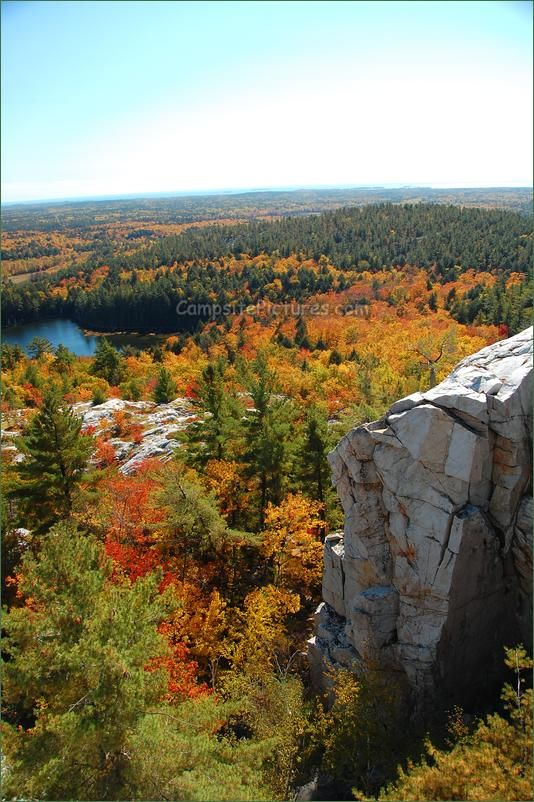 Killarney Provincial Park. The Crack Trail, Camping in Ontario Parks