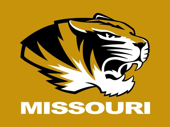 University Of Missouri Logo Stencil Missouri Tigers