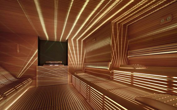 Saunas, Benches and Google on Pinterest