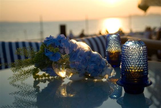 Details from an event decorated by MELI Parties by the sea! Do it the Greek way...