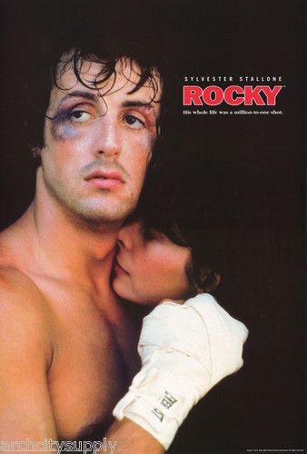 My Favorite Sylvester Stallone movies!   Yo Adrian!!!!!!!