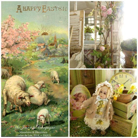*♥ Atelier de Léa - Un Jour à la Campagne ♥* Happy 2014 Easter! ♥