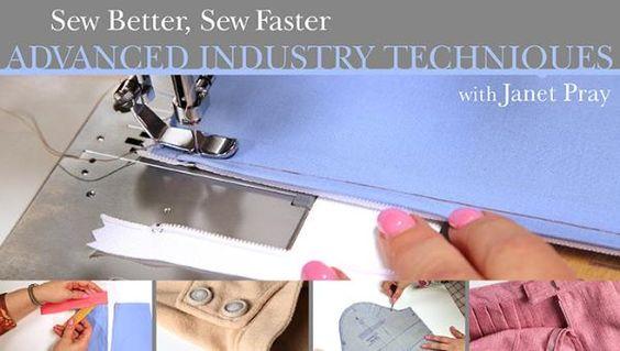 Costurar melhor, costurar Faster: Técnicas Indústria Avançada