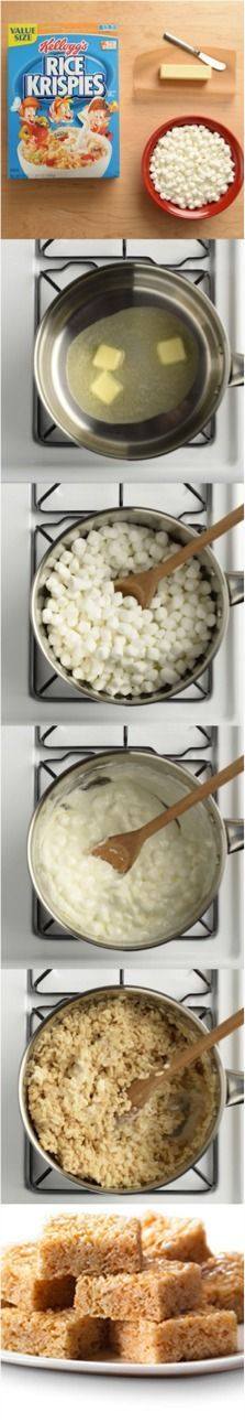 Rice Krispies Treats® are as easy as 1 – 2 – 3!