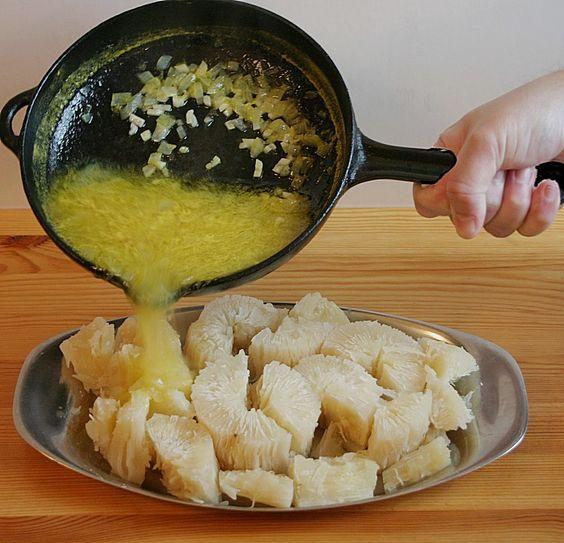http://www.chefkoch.de/rezepte/1066281212039645/Maniok-mit-Mojo-Sosse.html