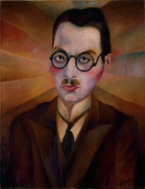 Heinrich Stegemann | Heinrich M. Davringhausen, Porträt Dr. Döhmann, 1915,