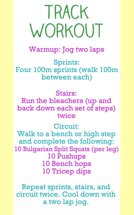 Holy Track! I think I might be able to do 1 round of this...but 3 total? wowza! Fitness goal for end of summer maybe?