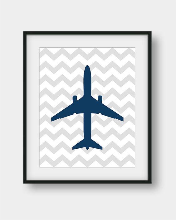 50% de descuento imprimir avión bebé niño habitación decoración, vivero aviación impresión, Jet avión chicos sala arte, regalo de aviación, avión de vivero decoración de la pared