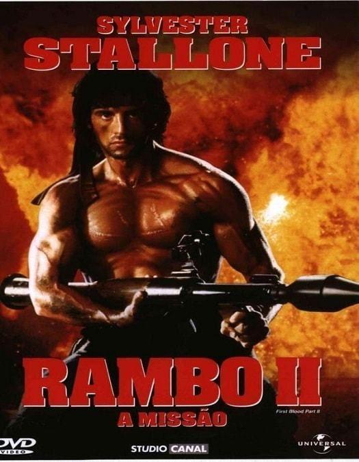 Baixar Rambo 2 A Missao Dublado E Online Cartazes De Filmes