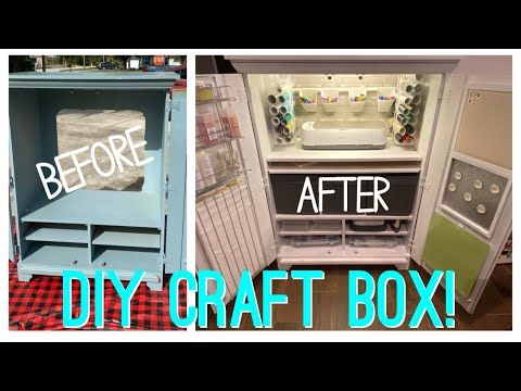 Diy Cricut Cabinet Youtube In 2020 With Images Diy Cricut