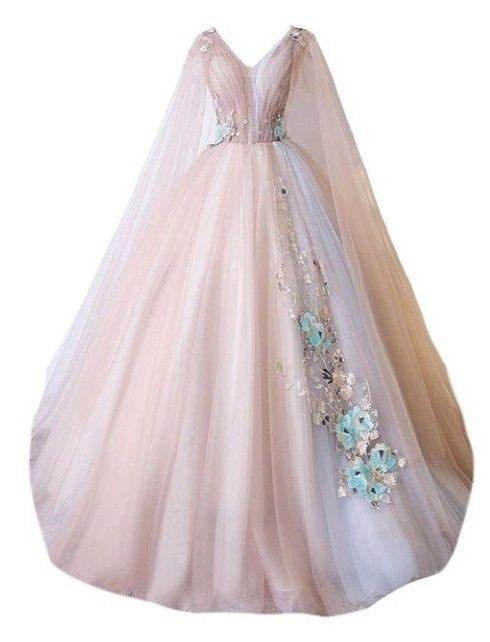 Pink Polyvore Moodboard Filler Dress Gown Wedding Fairytale Dress Dress Png Soft Dress