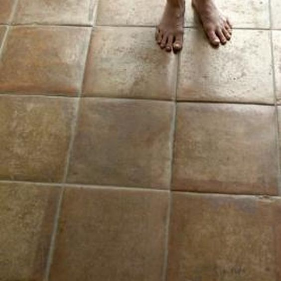 Natural ways to make tile floors shine the o 39 jays tile for How to make concrete floors shine