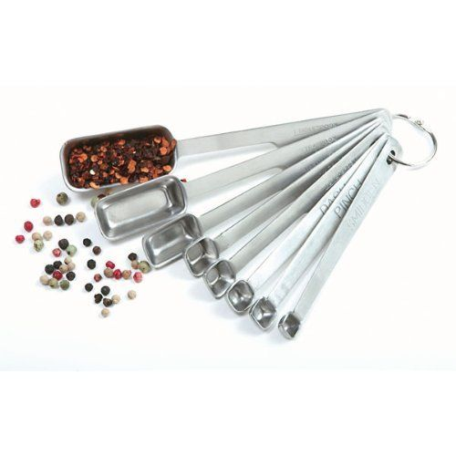 Norpro Stainless Steel 8 Piece Measuring Spoon Set, http://www.amazon.com/dp/B000P0W4MC/ref=cm_sw_r_pi_awdm_Qe-5tb04GFRZG
