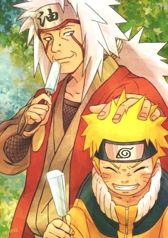 Naruto Jiraya Wallpaper Cute Sweetmoments Father