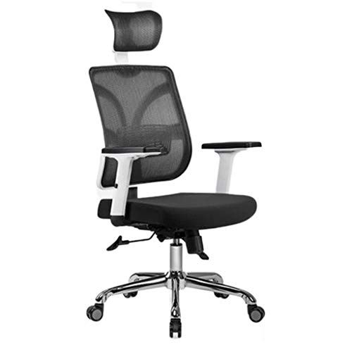 Swivel Chairs Chair Home Mesh Breathable Height Seat Ergonomic Waist Computer Office Chair Color Black Size 1 Ergonomic Chair Office Chair Modern Seating