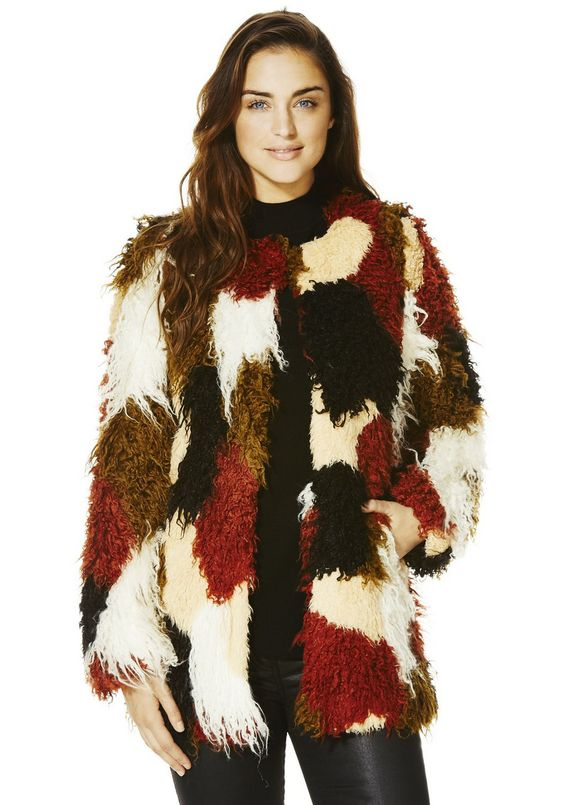 http://www.clothingattesco.com/womens-coats jackets/f f-faux-fur-patchwork-jacket/invt/bt523334