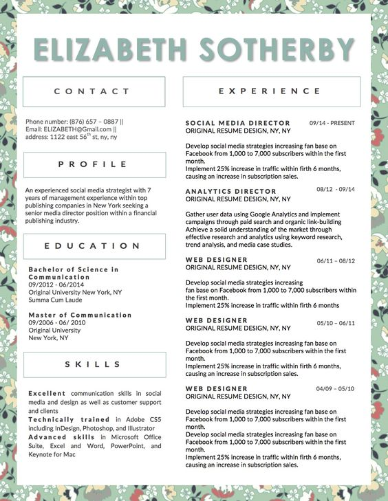 Combination Food Service Resume  Download This Resume Sample To